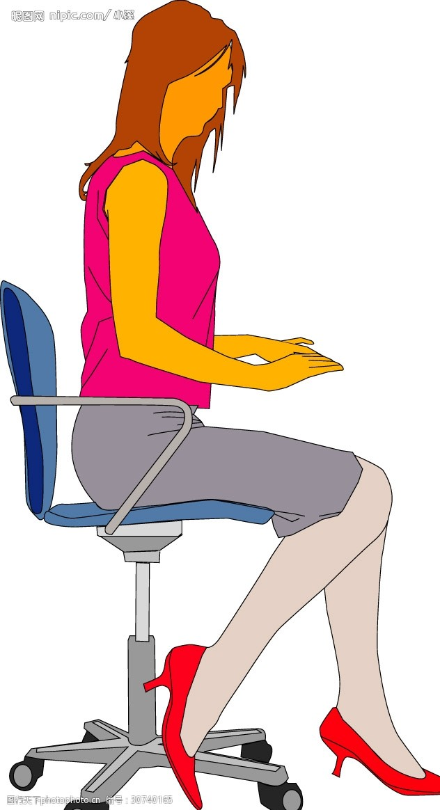 办公女秘书