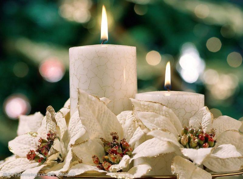 圣诞相关2高精圣诞相关-10圣诞白蜡烛图片