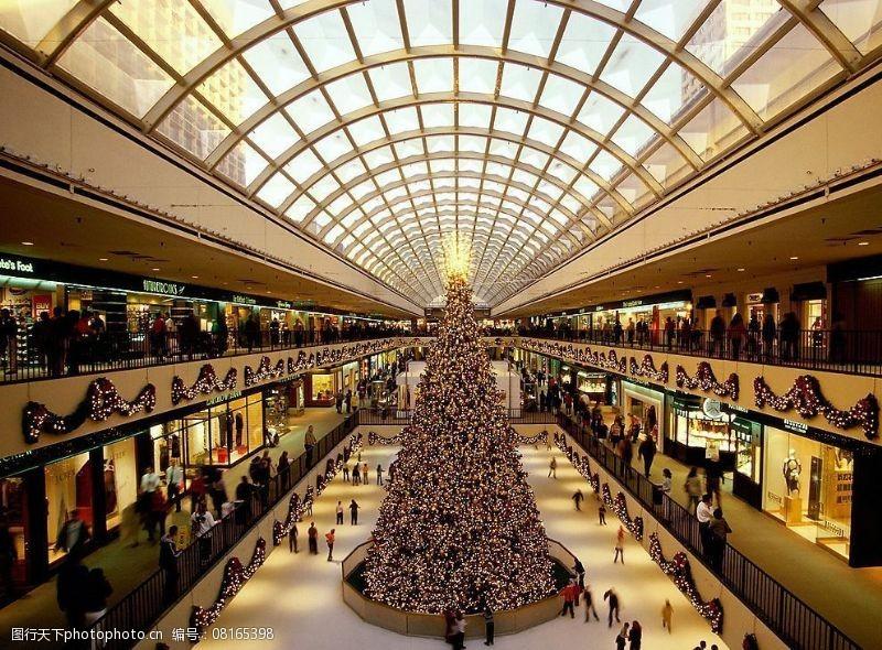 圣诞相关2高精圣诞相关-14商场圣诞气氛图片