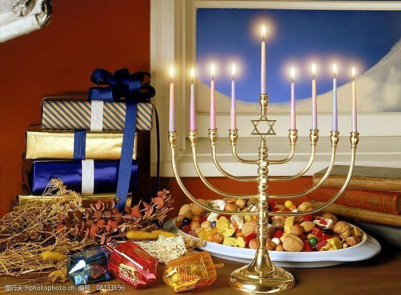 圣诞相关2高精圣诞相关-6圣诞蜡烛图片