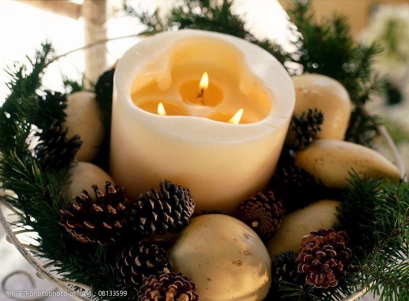 圣诞相关2高精圣诞相关-9圣诞蜡烛图片