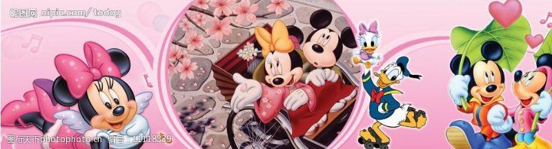樱花广告米奇老鼠图片