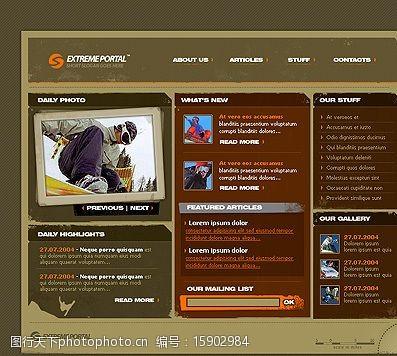 extremeTemplateMonster系列(6475)图片
