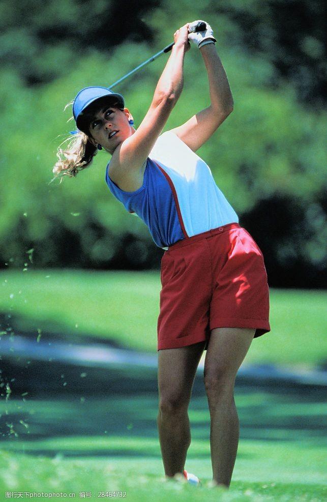 高尔夫挥杆高尔夫运动