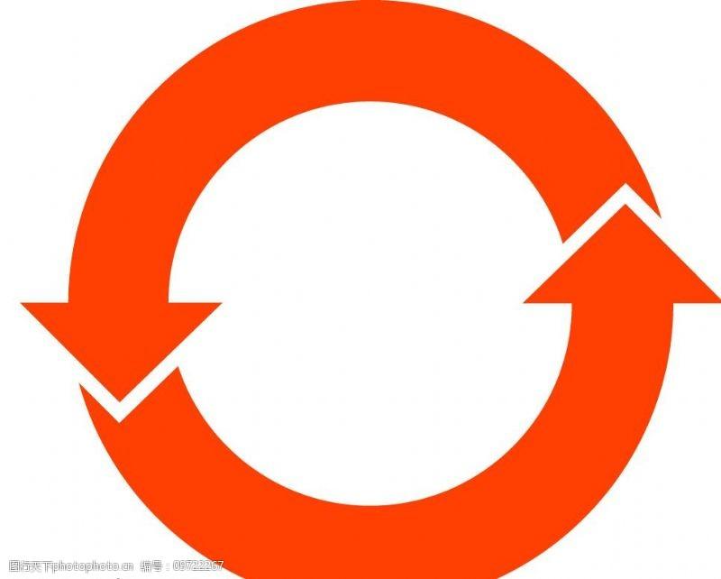 rohs标志中国RoHs标志橙色标志外圆图片