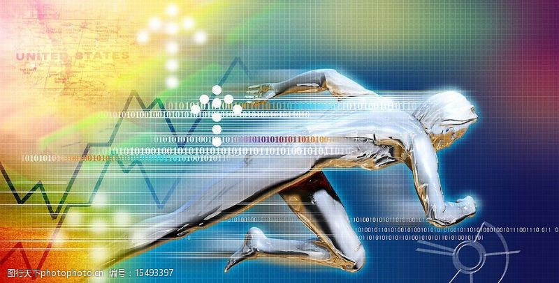 跑步金属人今日科技图片
