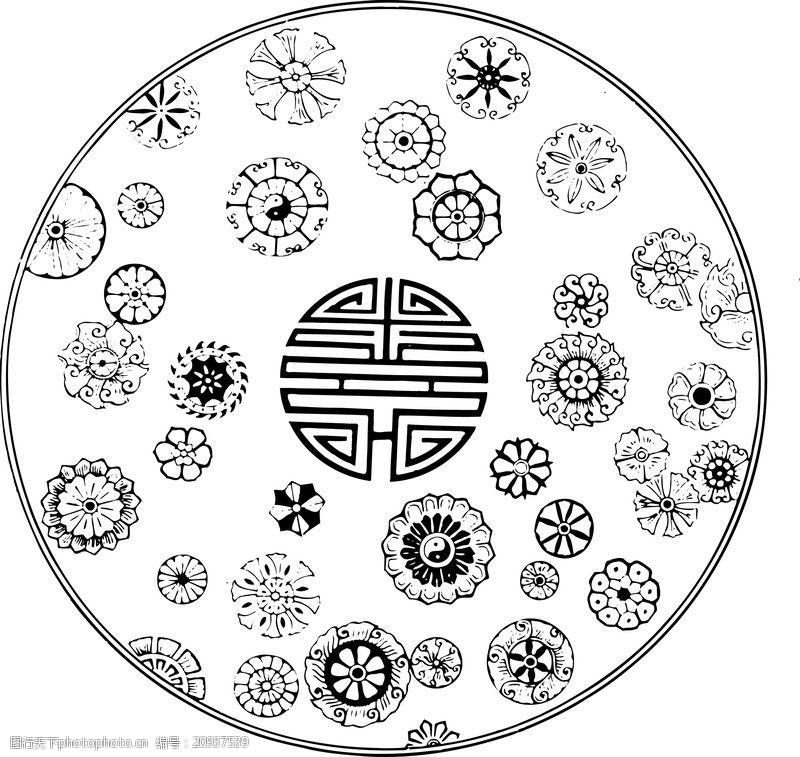 中国古图案清代0177