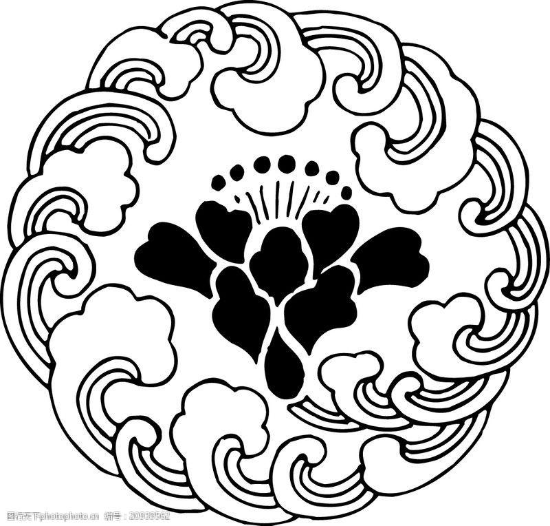 中国古图案清代0551