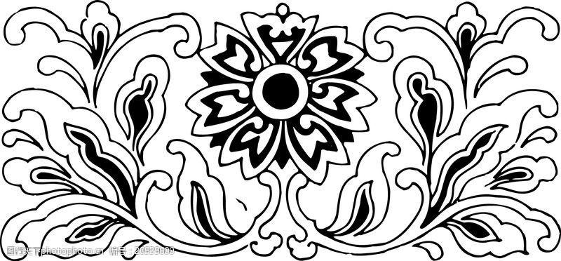 中国古图案清代0589